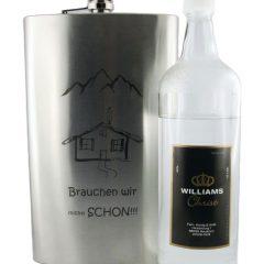 XXL-Flachmann